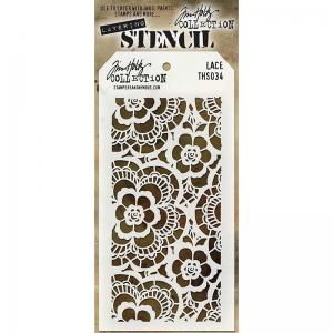 Layering Stencil - LACE - Tim Holtz