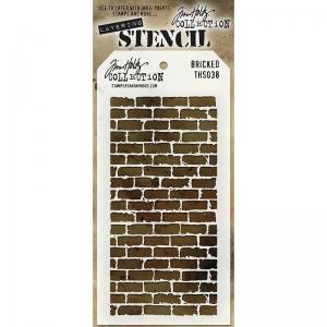 Layering Stencil - BRICKED - Tim Holtz