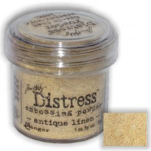 Antique Linen - Distress Embossing Powder -Ranger