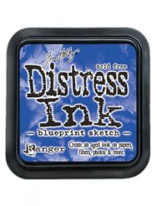 Distress Ink Pad - BLUEPRINT SKETCH