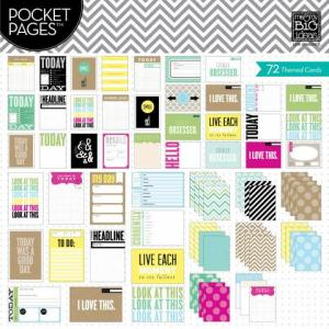 This Is My Life Pocket Pages Specialty Cards - Me & My Big Ideas Themed