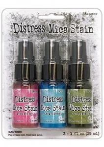 Distress - Holiday Mica Stain Set #2  - Tim Holtz