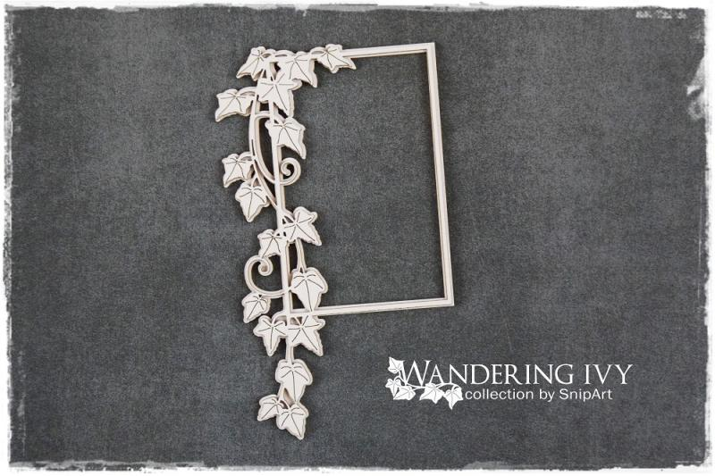 Wandering Ivy RECTANGLE FRAME - SnipArt
