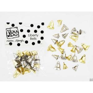 Liberty Bells - Silver & Guld (18pc) - You Do