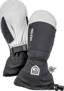 Hestra Army Leather Heli Ski - Mitt Svart