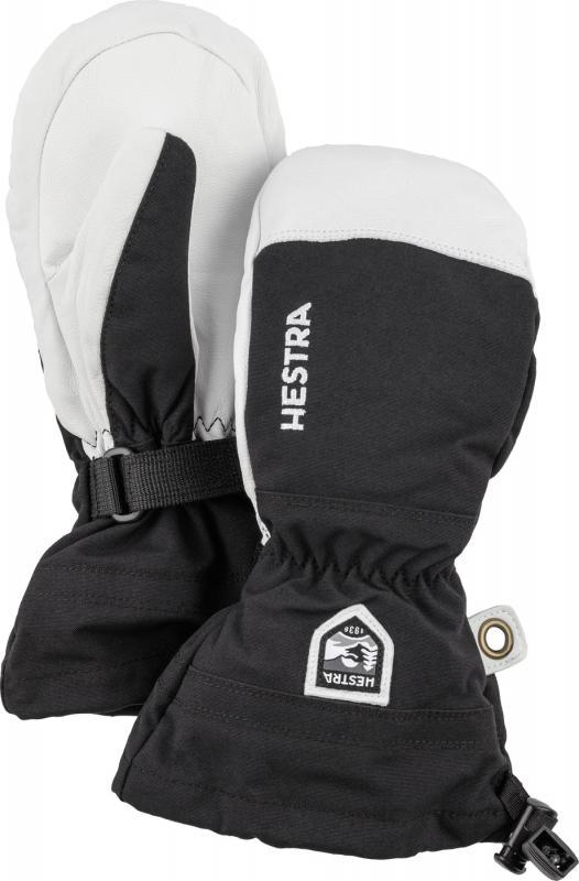 Hestra Army Leather Heli Ski Jr Mitt