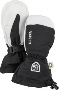 Hestra Army Leather Heli Ski Jr. - mitt Svart