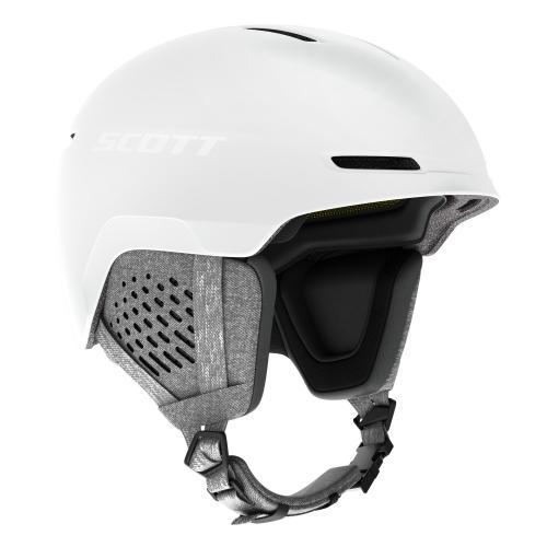 Scott Helmet Track Plus White 20/21