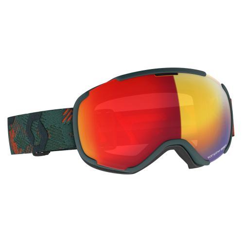 Scott Goggle Faze II Sombre Green / Pumpkin Orange / Enhancer Red Chrome 20/21