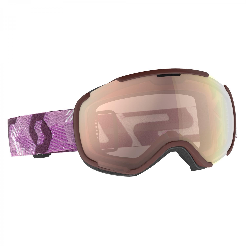 Scott Goggle Faze II White / Cassis Pink / Enhancer Rose Chrome 20/21