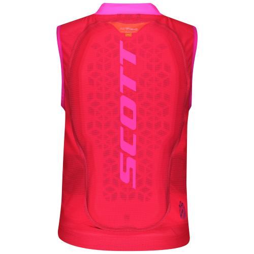 SCOTT AirFlex Jr Vest Protector Pink 20/21