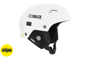 BLIZ EVO Mips Slalom/Freeride hjälm vit