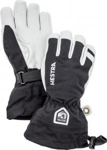Hestra Army Leather Heli Ski - 5 Finger Svart