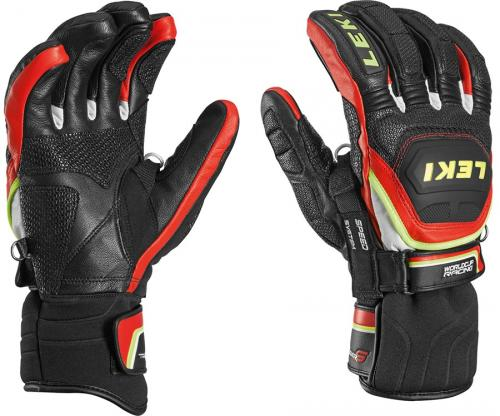 Leki Glove WC Race Flex S JR Black/Red 19/20