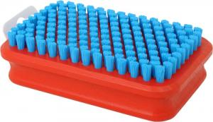 Swix Brush Rectangular. Fine, blue nylon