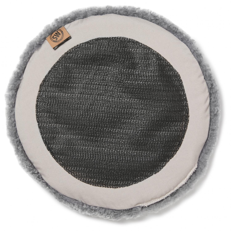 Curly Pad 34Ø - Natural Grey