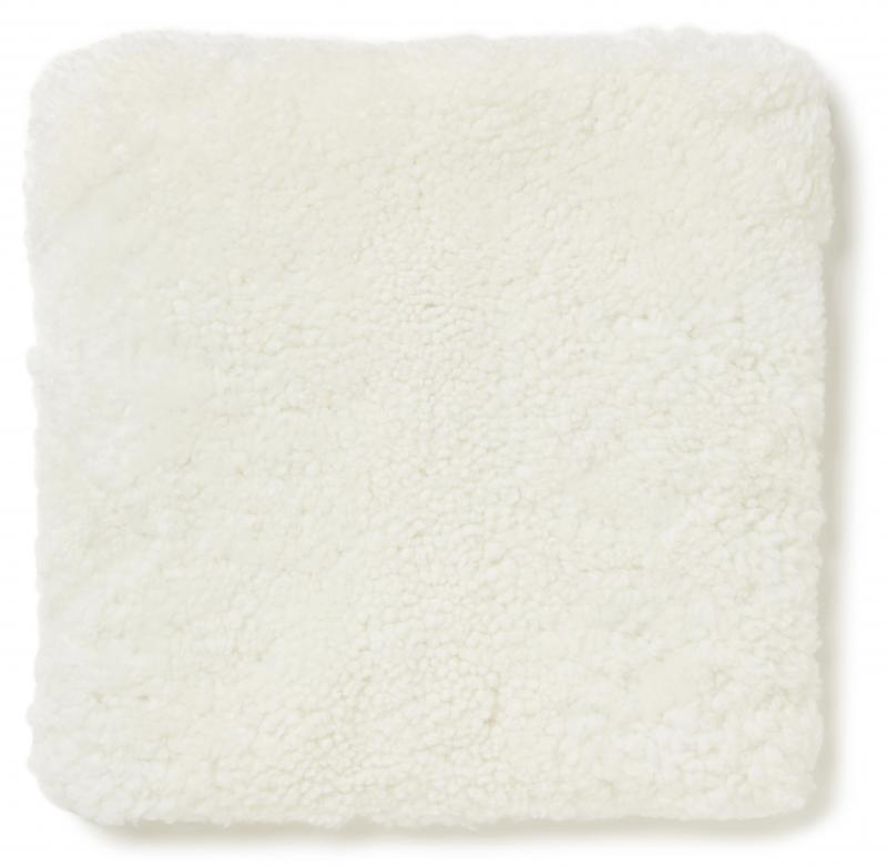 Curly Pad 40x40 - White