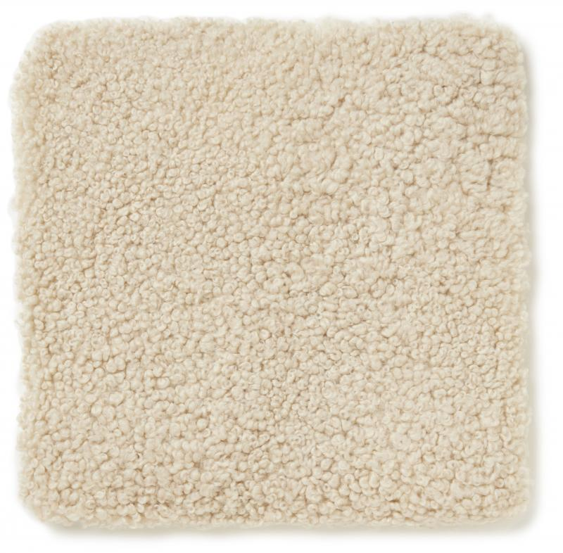 Curly Pad 40x40 - Beige