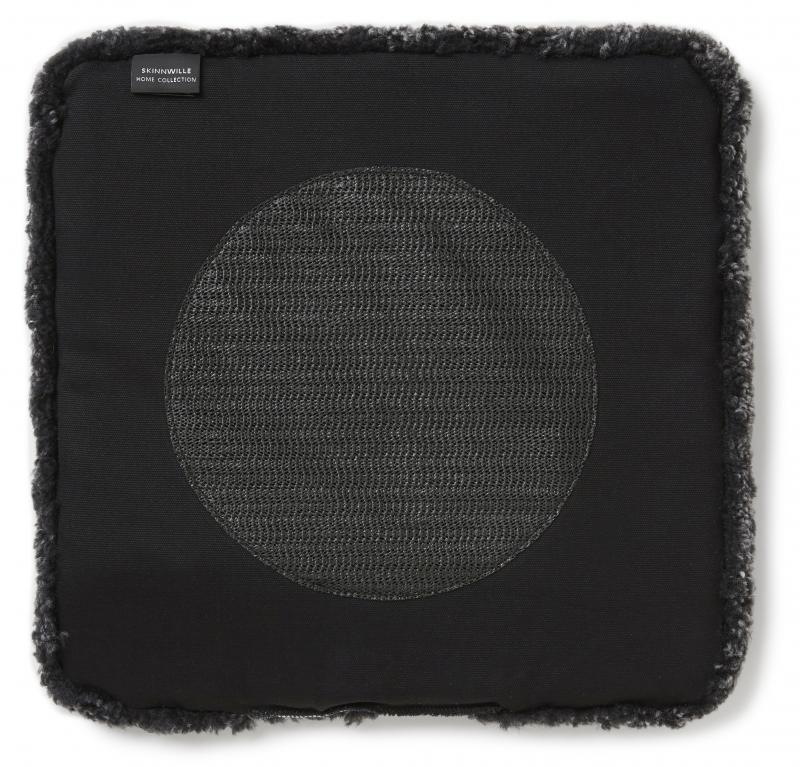 Curly Pad 40x40 - Dark Grey