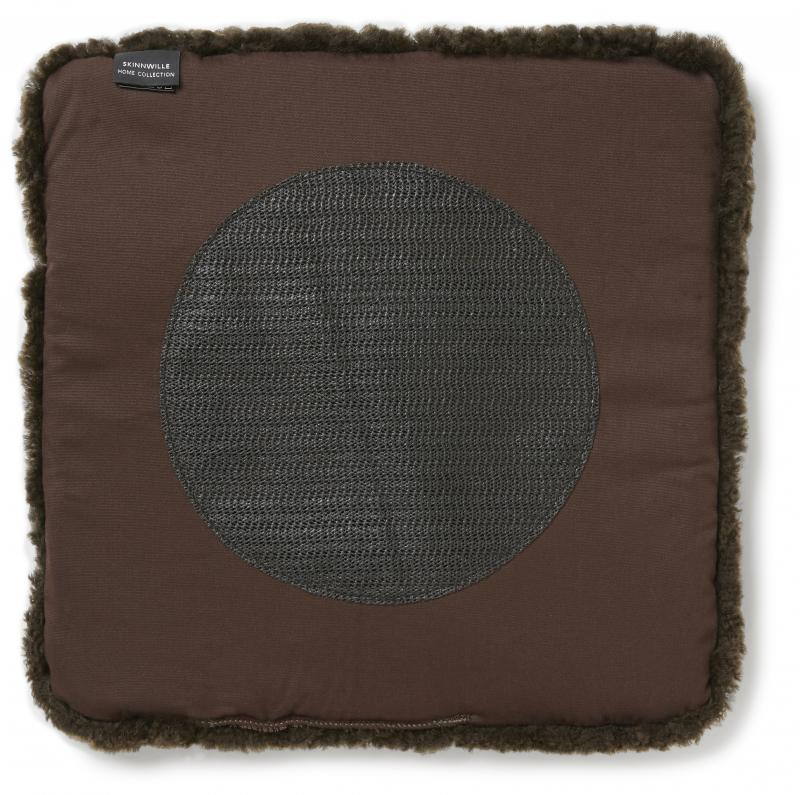 Curly Pad 40x40 - Brown