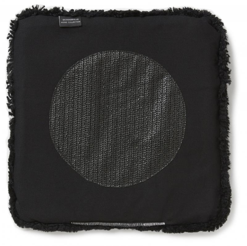 Curly Pad 40x40 - Black