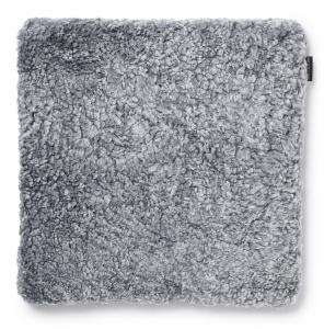 Curly Pad 45x45 - Charcoal Silvergrey