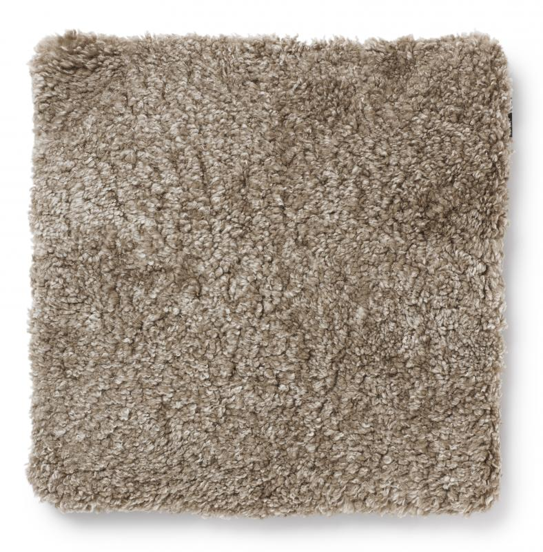 Curly Pad 45x45 - Light Brown