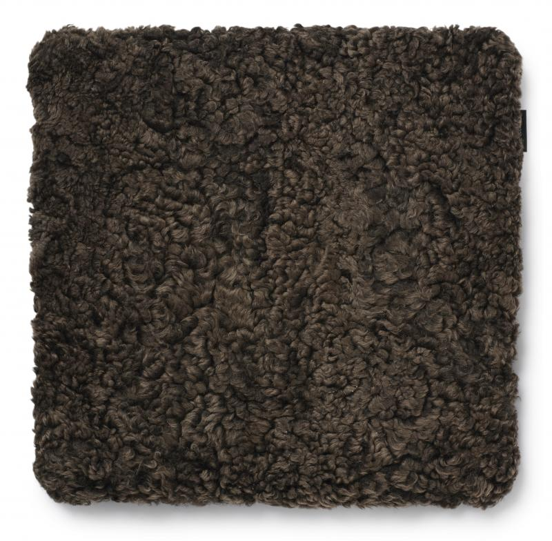 Curly Pad 45x45 - Brown
