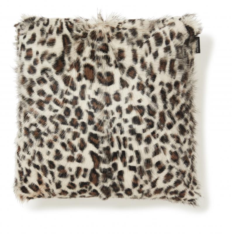 Goaty Kissenbezug Ziegenfell - Leopard