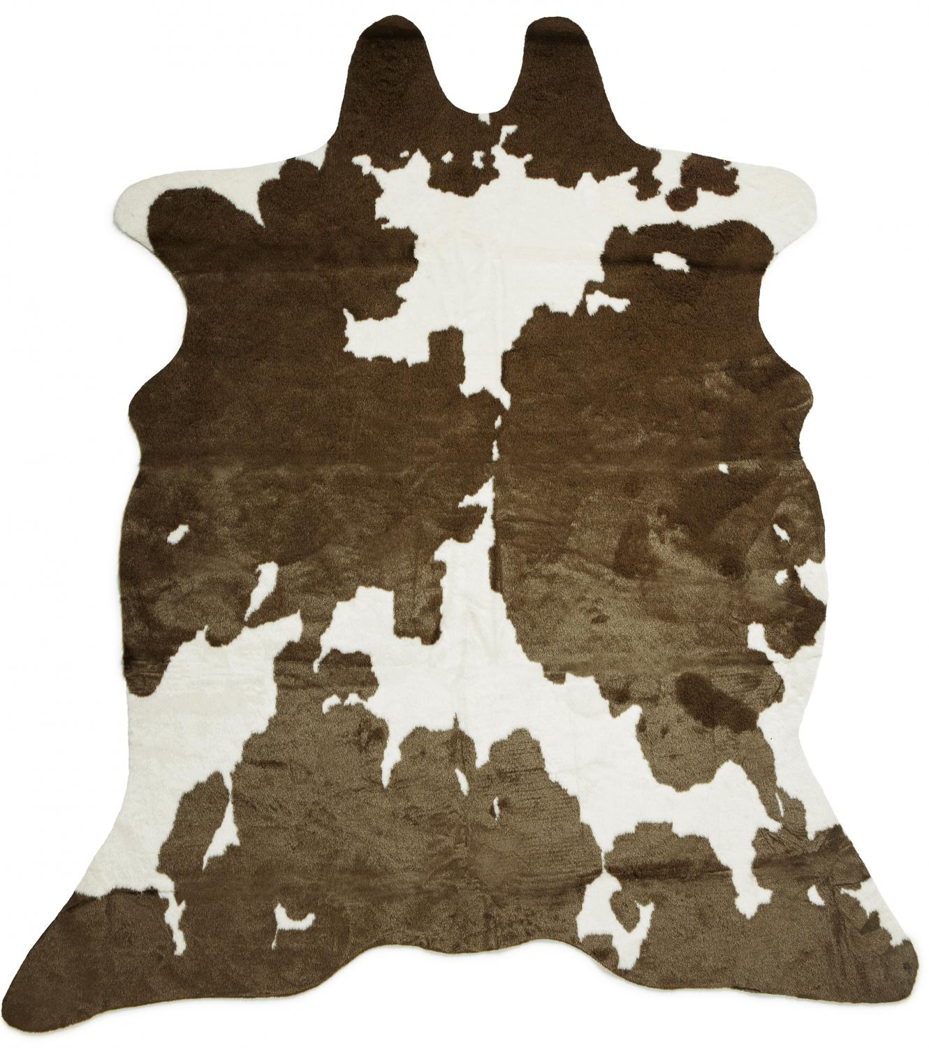 Sonny Cowhide - Brown/White