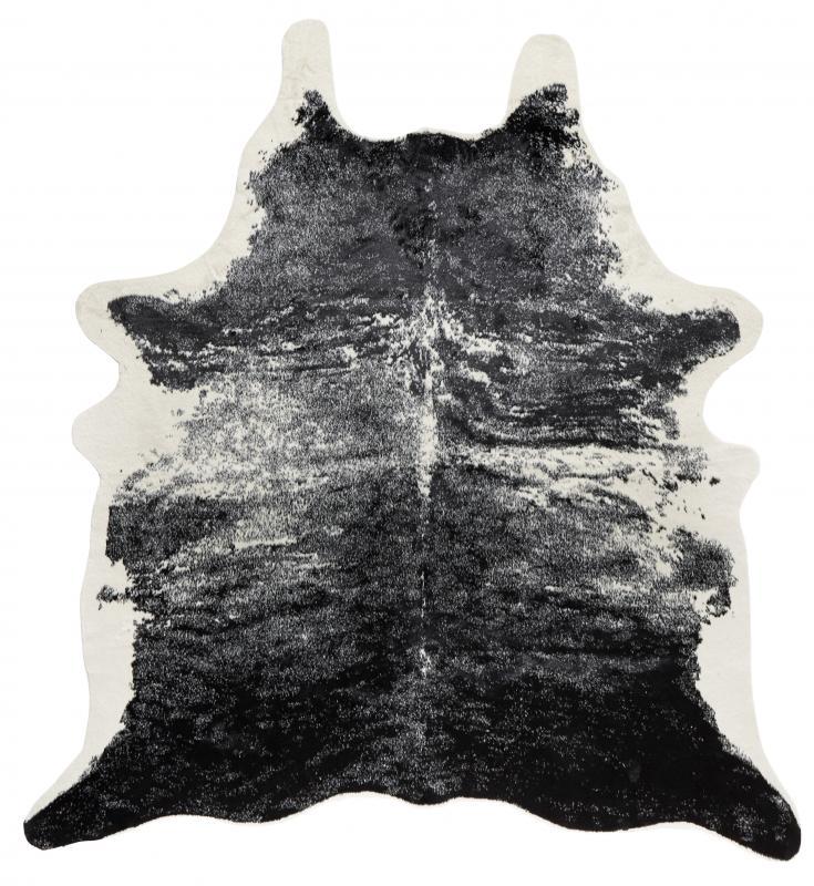 Vilgot Cowhide - Exotic Black/Offwhite
