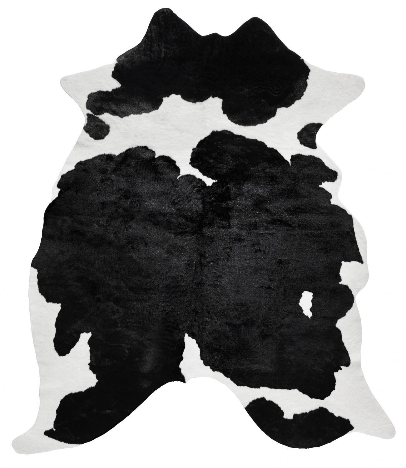 Wille Cowhide - Black/Offwhite