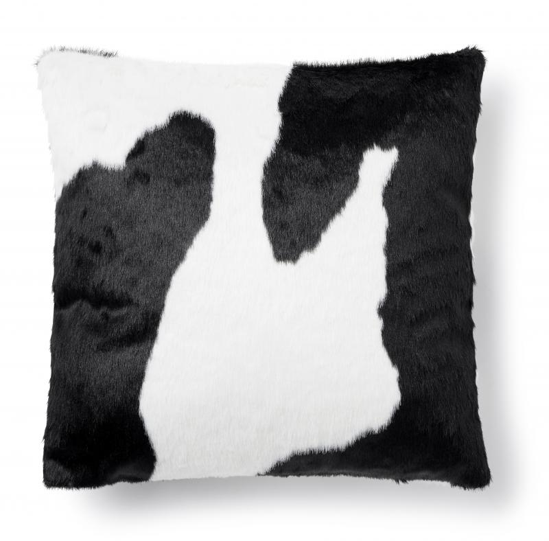 Wille cushion cover - Black/White