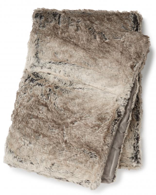 Cozy Pläd - Naturlig Melange