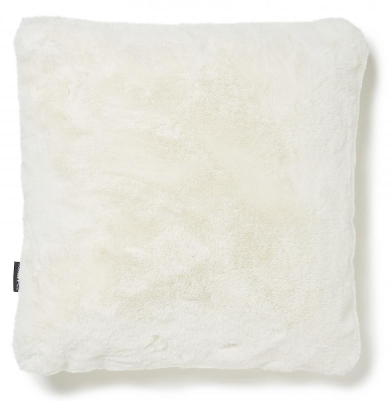 Fluffy Cushion - Ivory