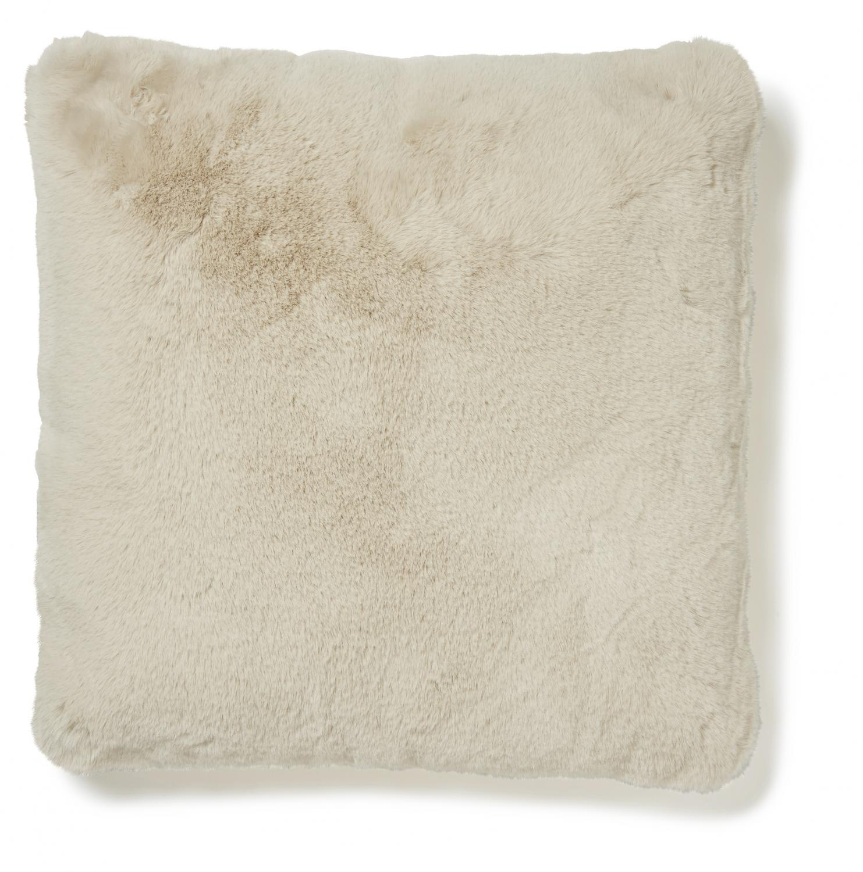 Fluffy Cushion - Beige