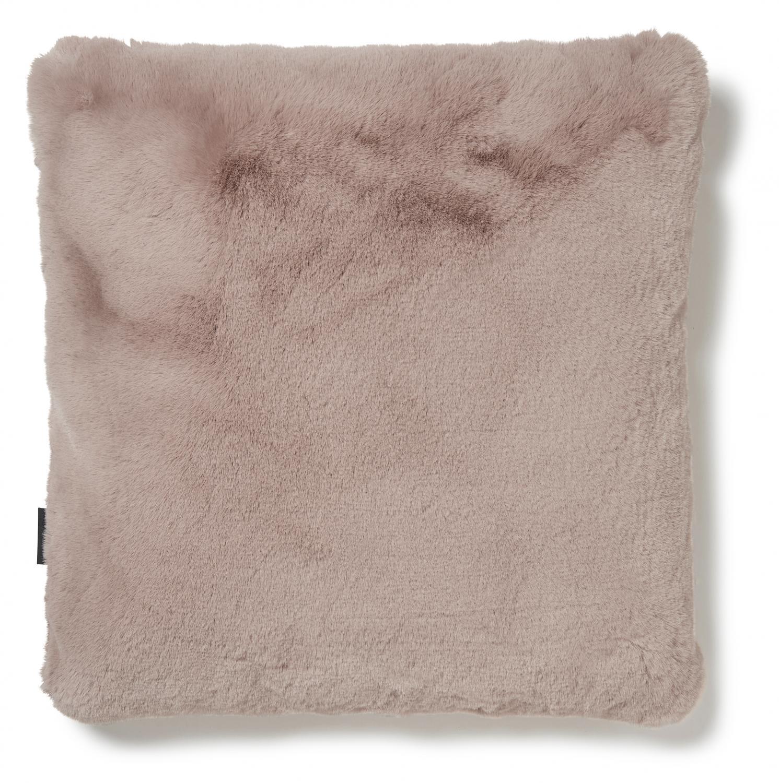 Fluffy Cushion - Pink