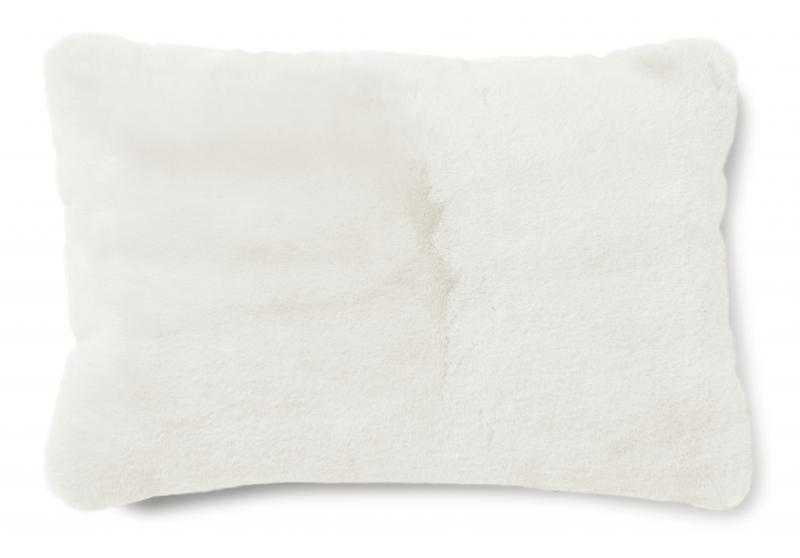 Fluffy Cushion - Ivory