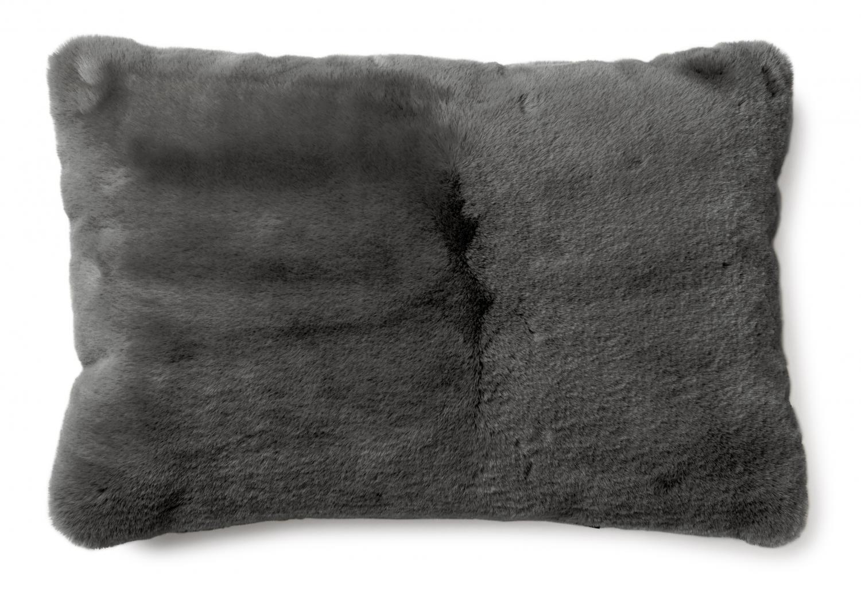 Fluffy Cushion - Grey