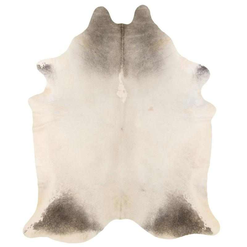 Mountain Cowhide Carpet L - Grey/Beige