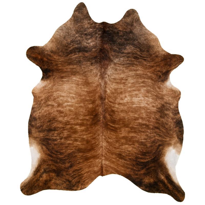 Exotic Cowhide Carpet L - Black/Brown/White