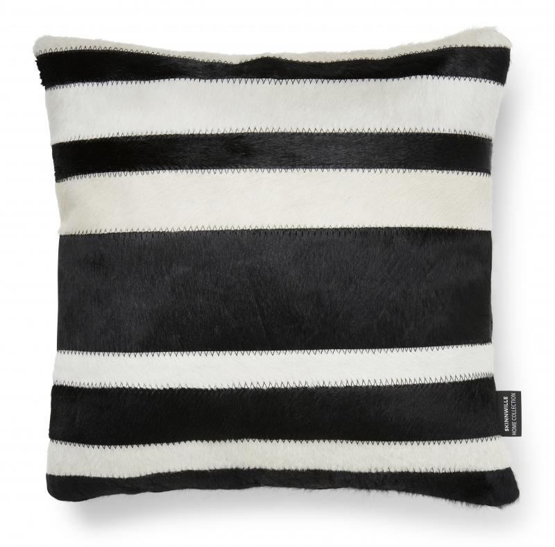 Stripy Cushion cover - Black/White