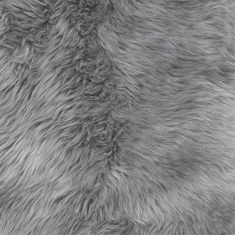 Gently rug. Sheepskin - Light Grey