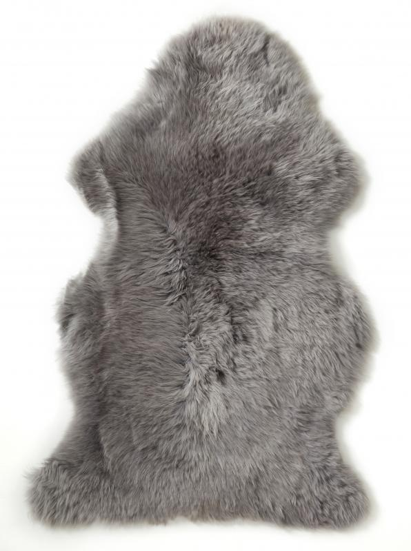 Gently rug. Sheepskin - Graphite Grey