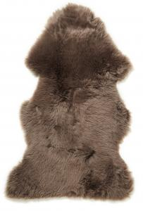 Gently rug. Sheepskin - Dark Beige