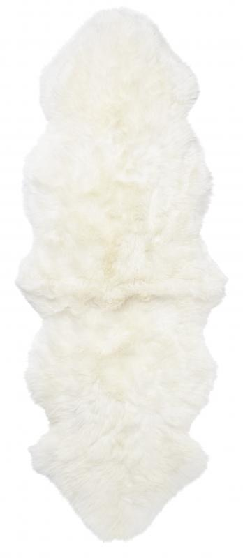 Gently Double Sheepskin - White