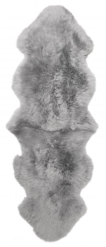 Gently Double Sheepskin - Light Grey
