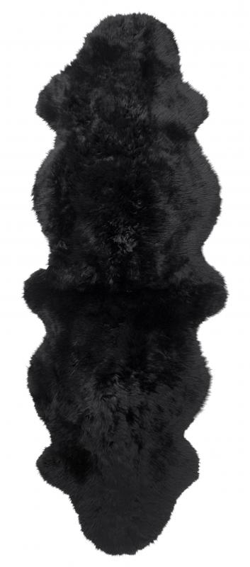 Gently Double Sheepskin - Black