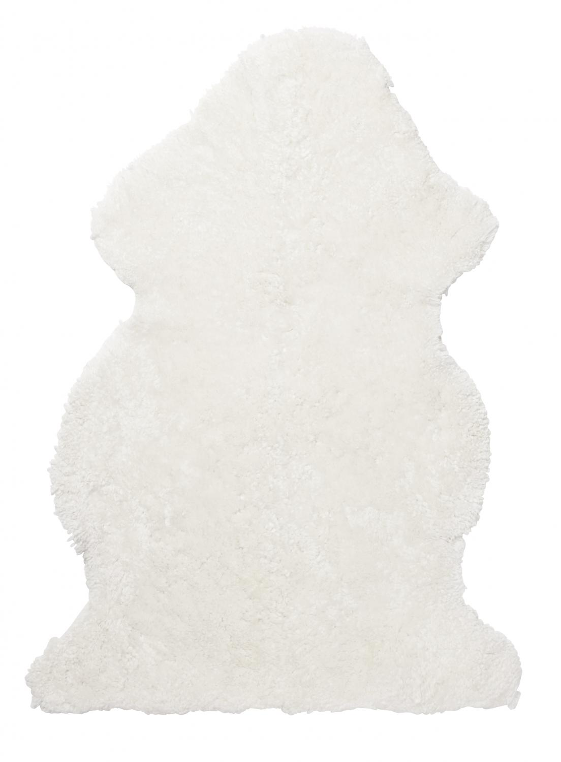 Curly Sheepskin - White
