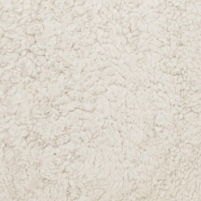 Curly rug. Sheepskin - Beige